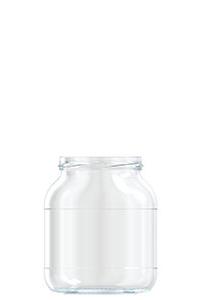 720ml flint glass NNC food jar