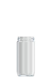 420ml flint glass Sausage food jar