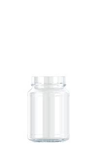 515ml flint glass Jam food jar