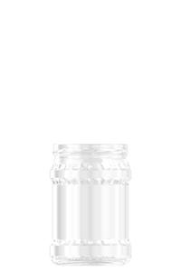 545ml flint glass food jar
