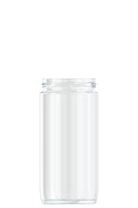 725ml flint glass Sausage food jar