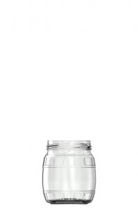 250ml flint glass Herring food jar