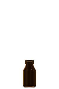 60ml amber glass dropless bottle