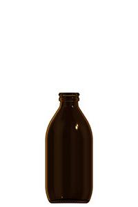 300ml amber glass dropless bottle