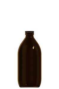 500ml amber glass dropless bottle