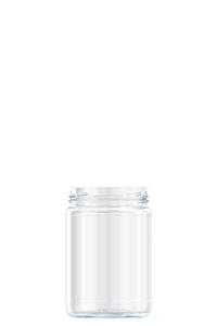 390ml flint glass food jar