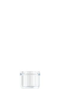 120ml flint glass Caviar food jar