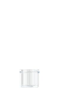 125ml flint glass Caviar food jar