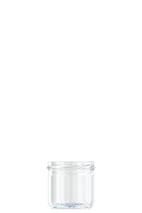 140ml flint glass Caviar food jar
