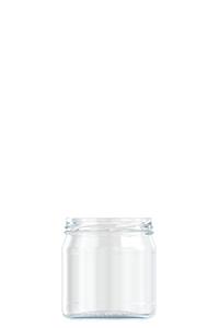 420ml flint glass food jar