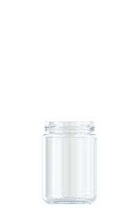 385ml flint glass food jar