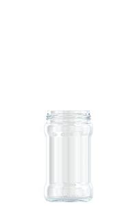 314ml flint glass food jar