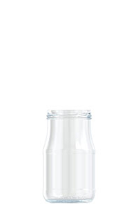 373ml flint glass food jar