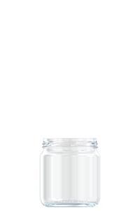 374ml flint glass food jar