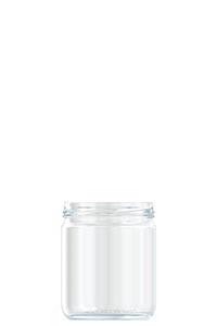 446ml flint glass food jar
