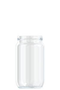 850ml flint glass Normalise food jar