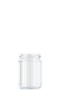 370ml flint glass Pickle food jar