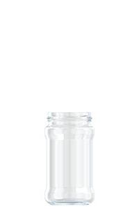315ml flint glass food jar