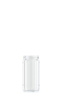 882ml flint glass Coffee food jar