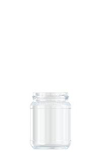 368ml flint glass Honey food jar