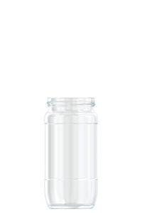 450ml flint glass Coffee food jar