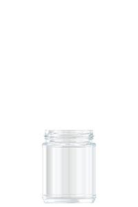 309ml flint glass food jar