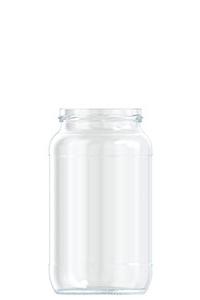 1062ml flint glass food jar