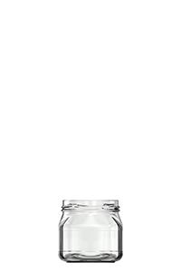 220ml flint glass 4K food jar