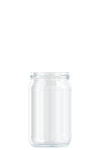 580 ml Rundglas
