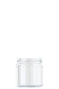 418ml flint glass Michael food jar