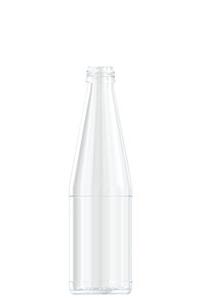 0,33 l Karottensaft-Flasche
