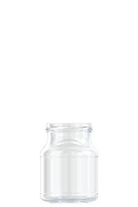 374ml flint glass Henkel food jar
