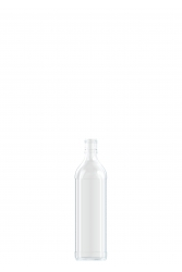 square spirit bottle 750ml