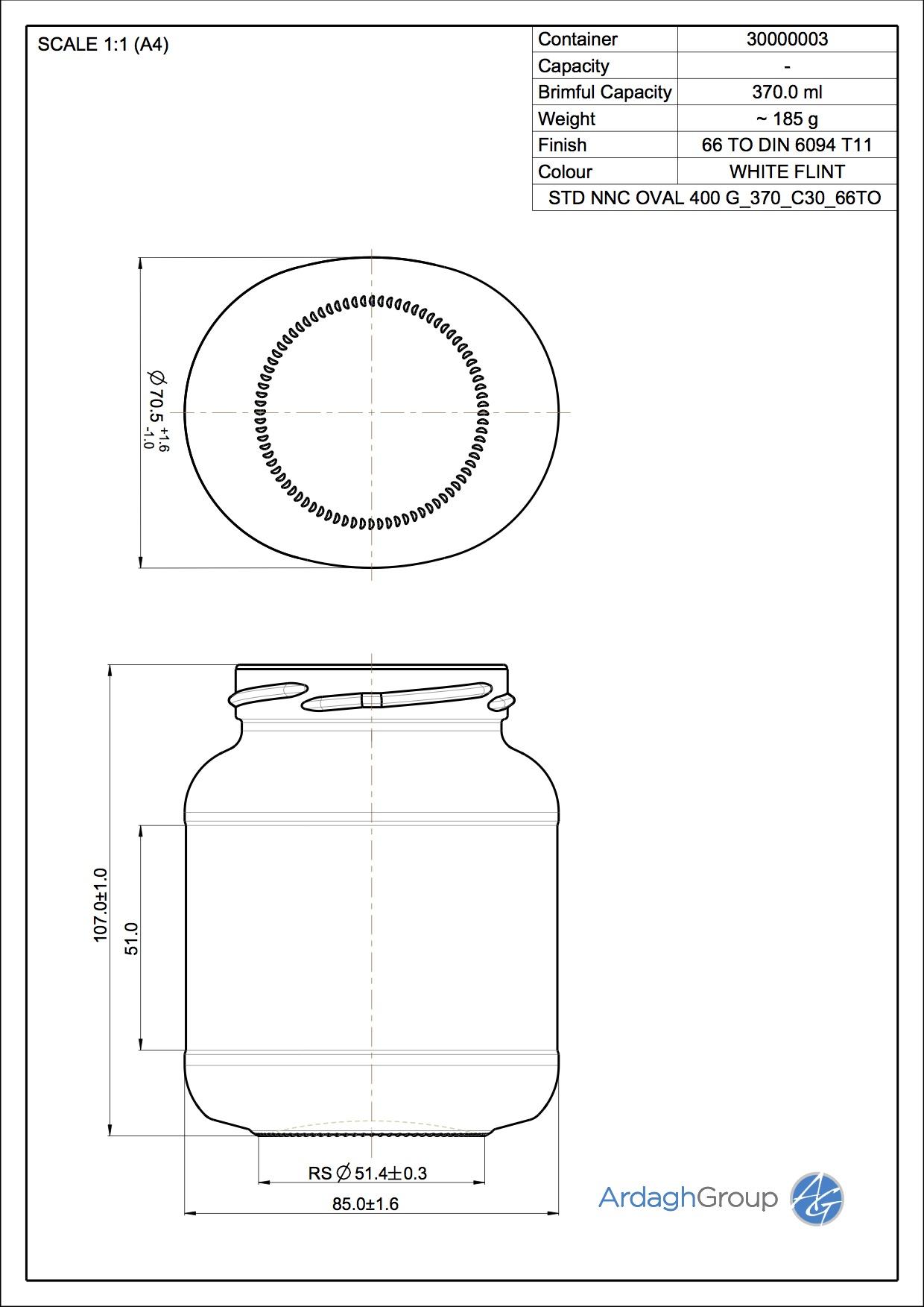 Jar STD NNC Oval_370_C30_66TO