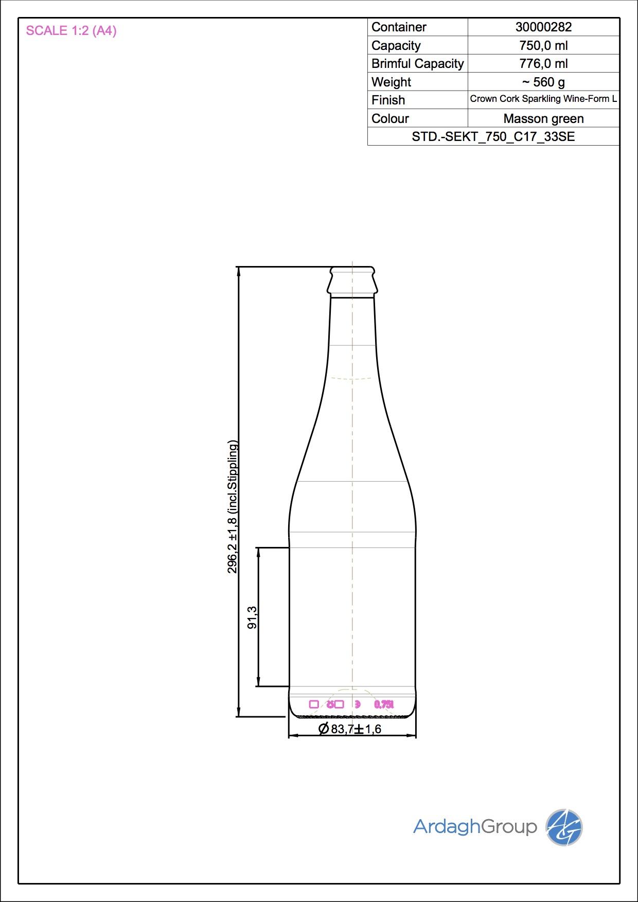 STD.-SEKT 750 C17 33SE