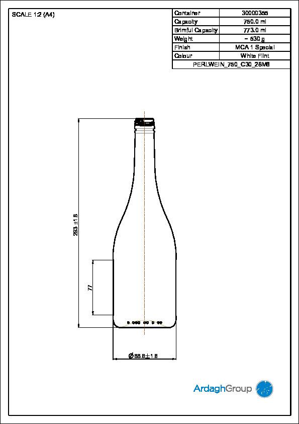 STD PERLWEIN 750 C30 28M6