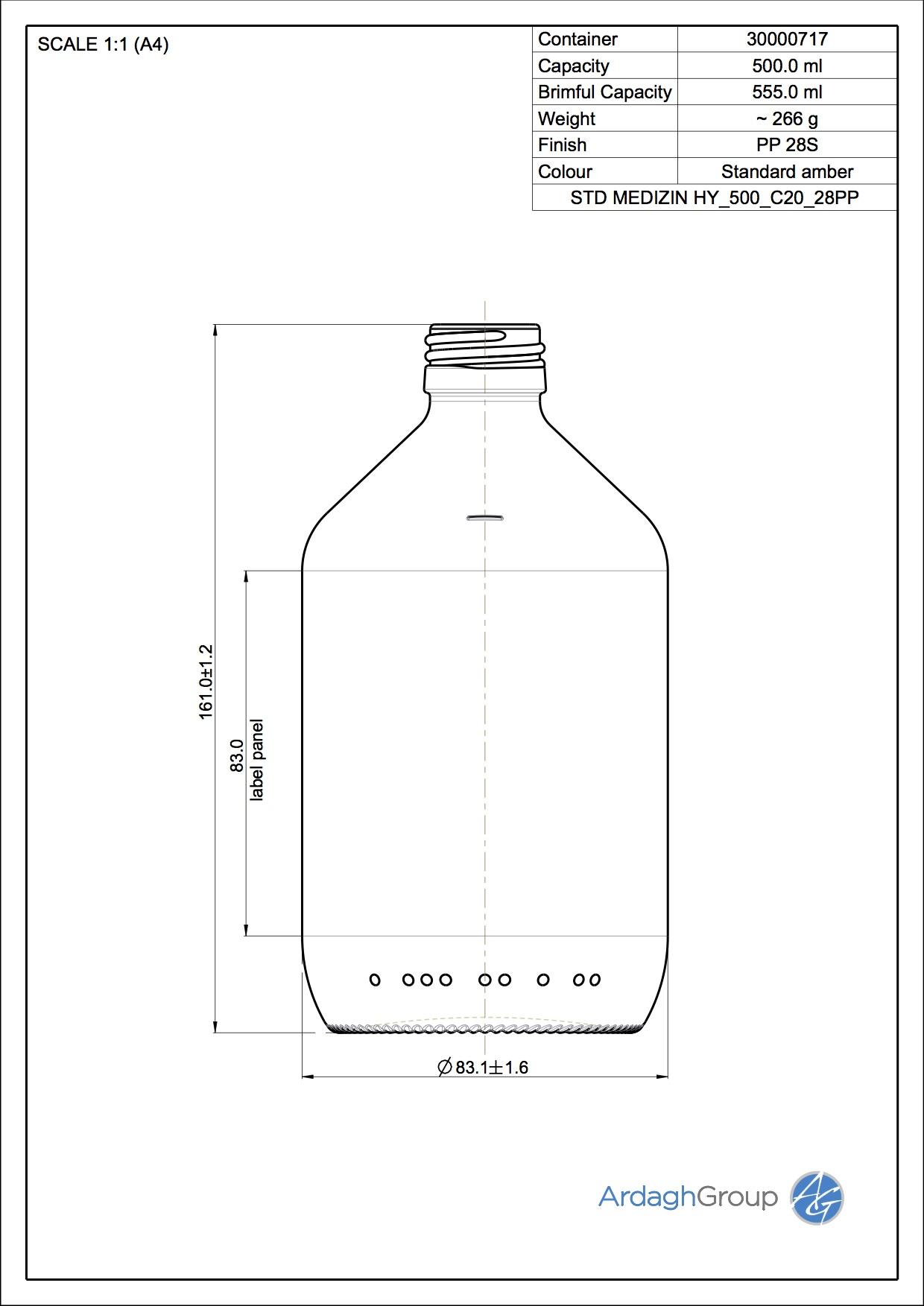 5956 STD MEDIZIN HY 500 C20 28PP
