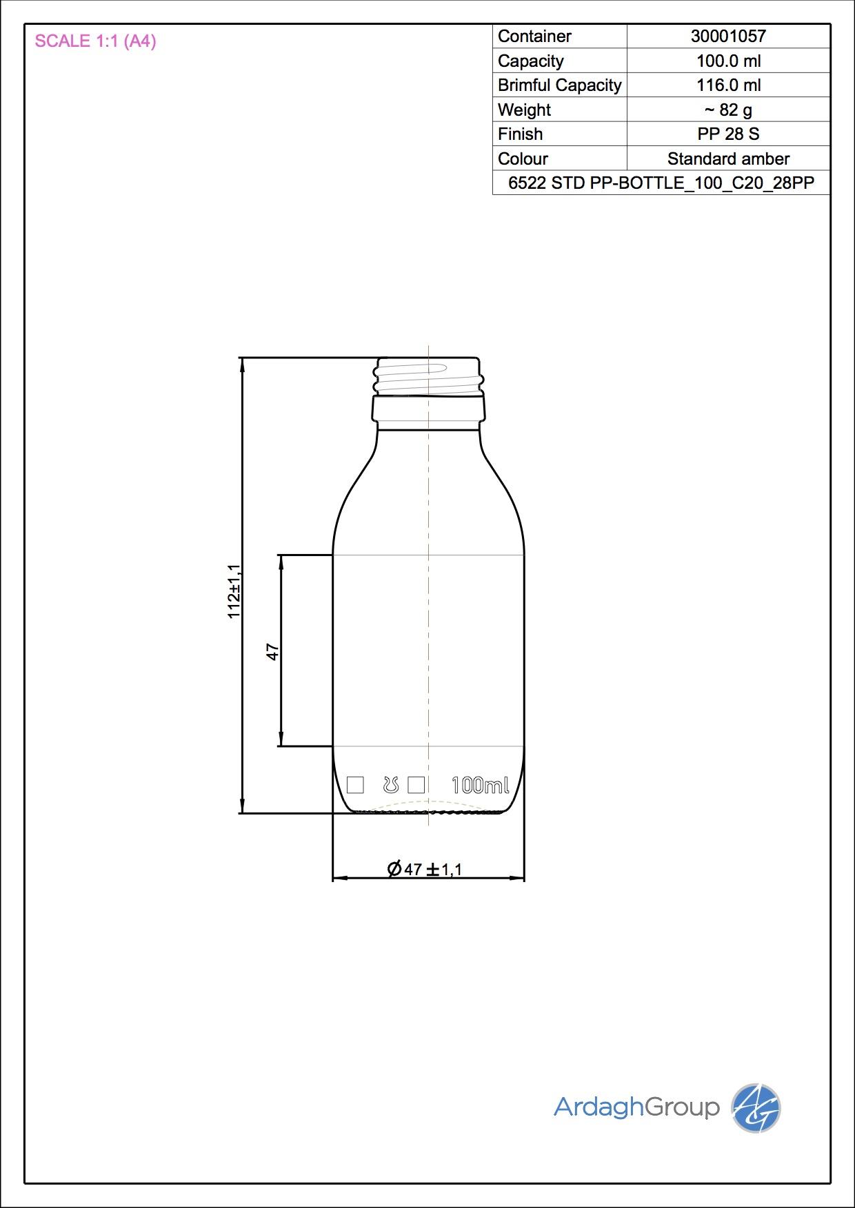 STD PHARMA PILFER 100 C20 28PP
