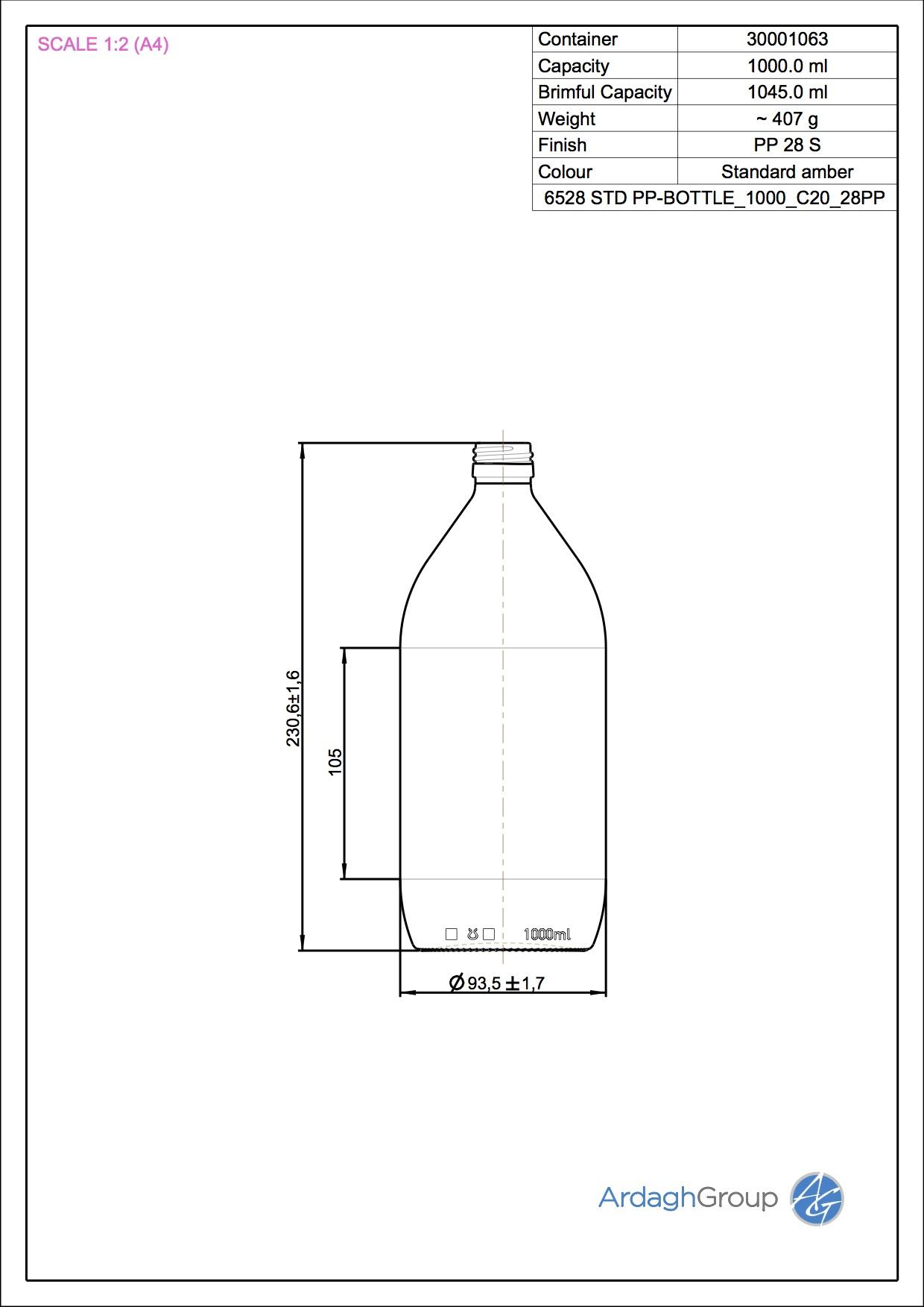 STD PHARMA PILFER 1000 C20 28PP