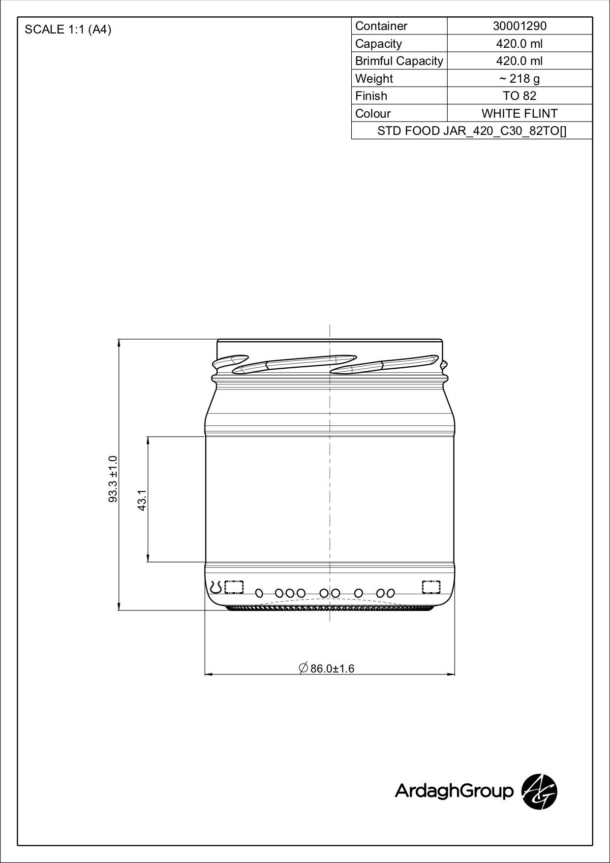 STD FOOD JAR_420_C30_82TO