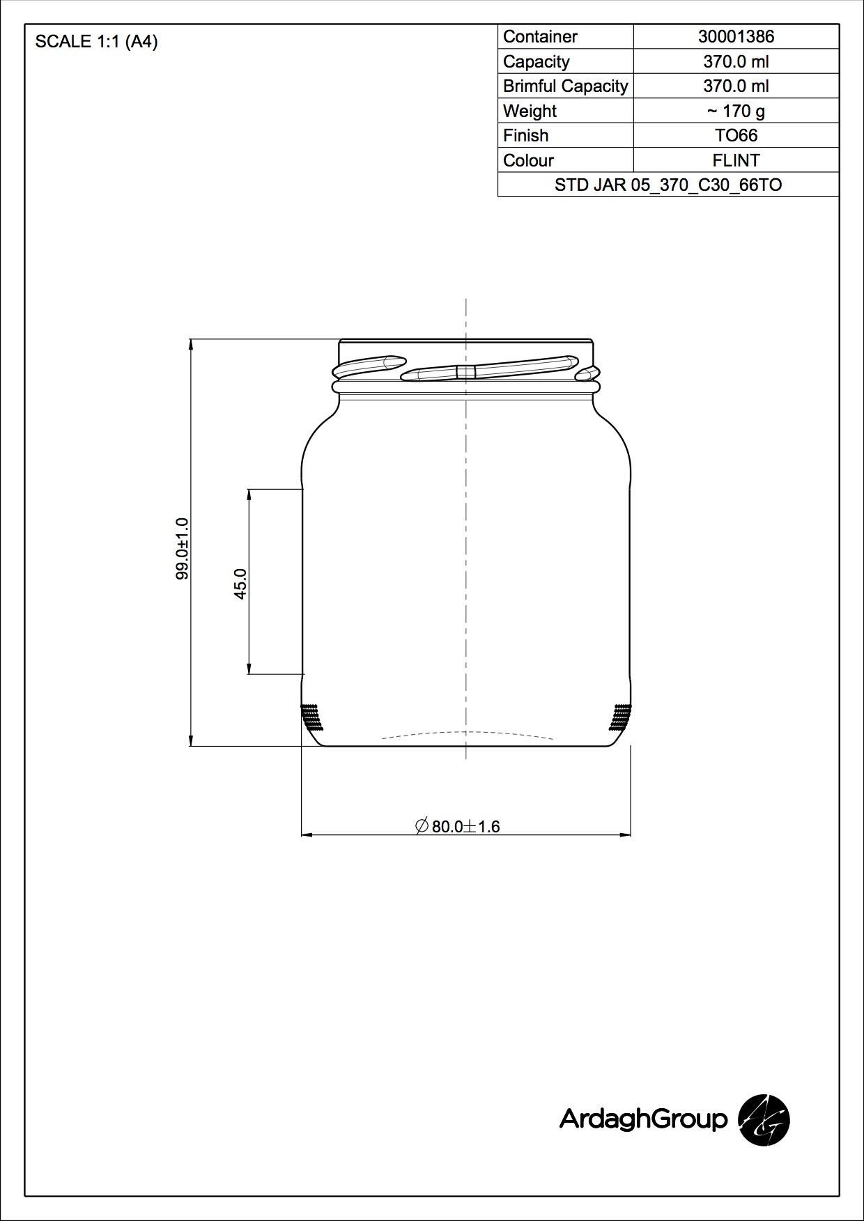 STD JAR 05 370 C30 66TO