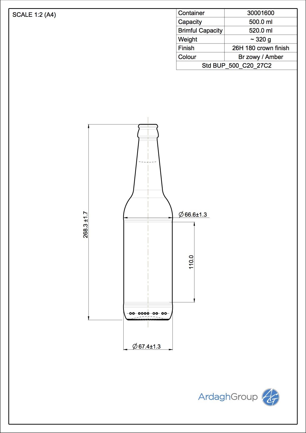 BUP 500 C20 27C2