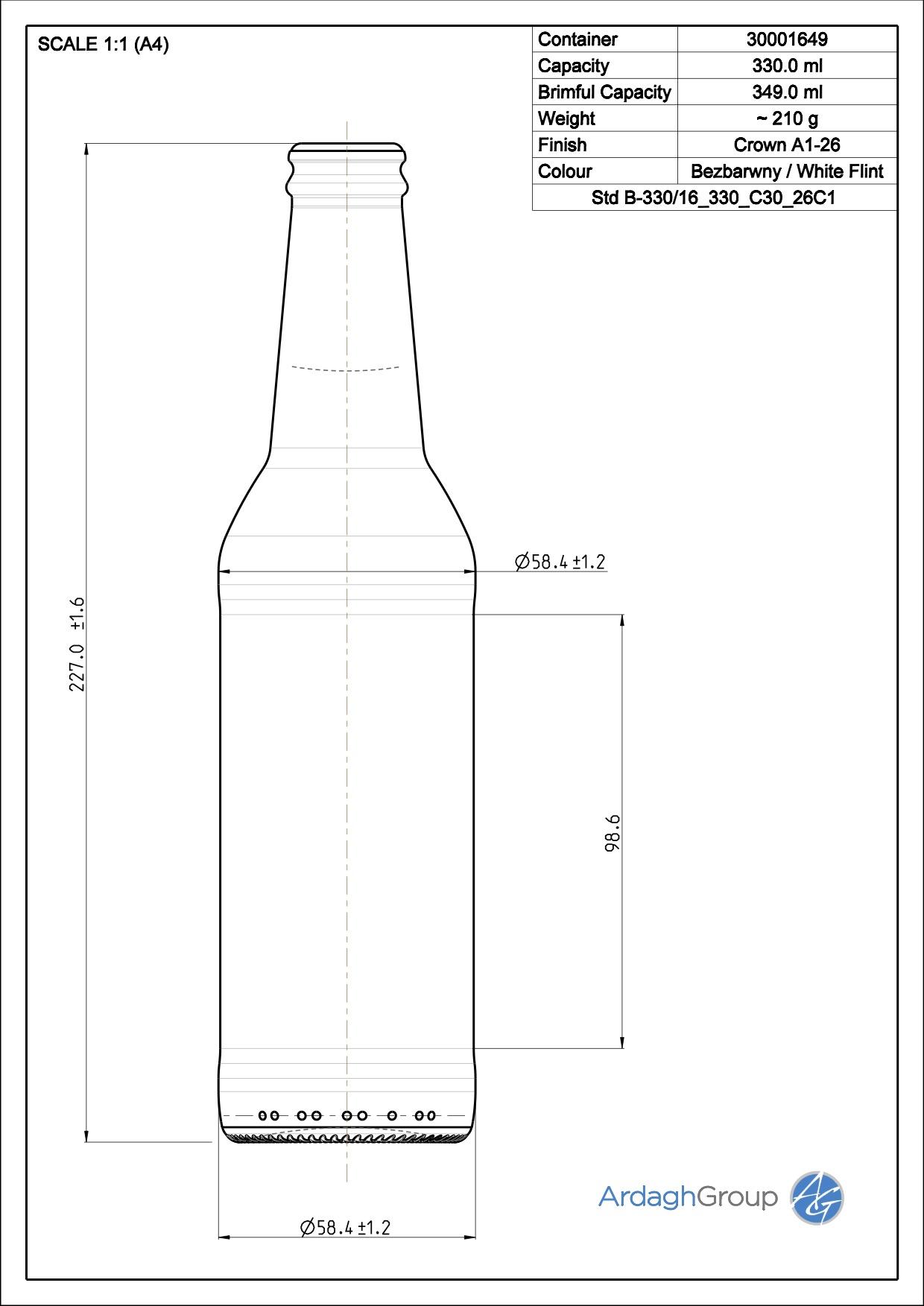 Std B-330/16 330 C30 26C1