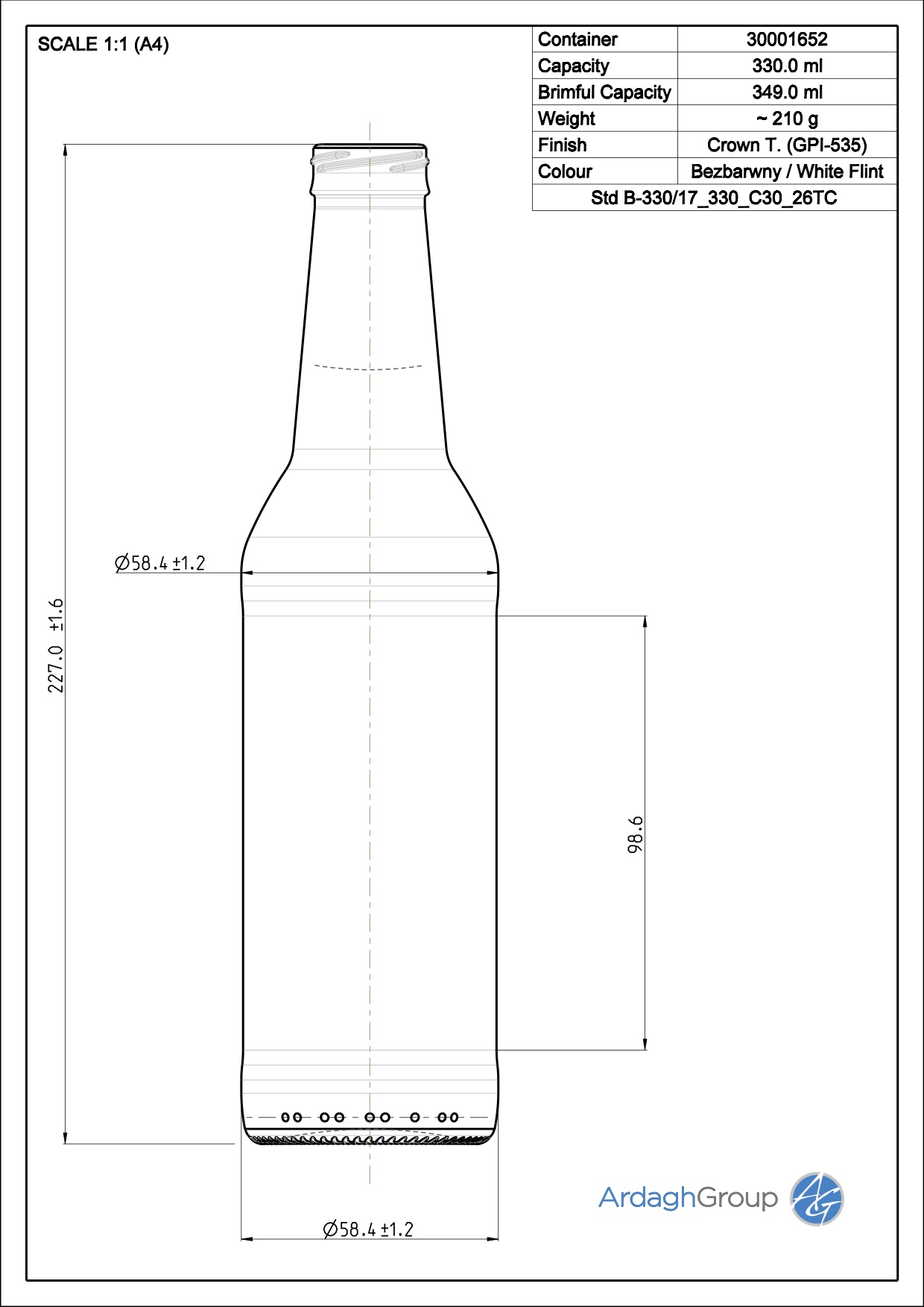 Std B-330/17 330 C30 26TC