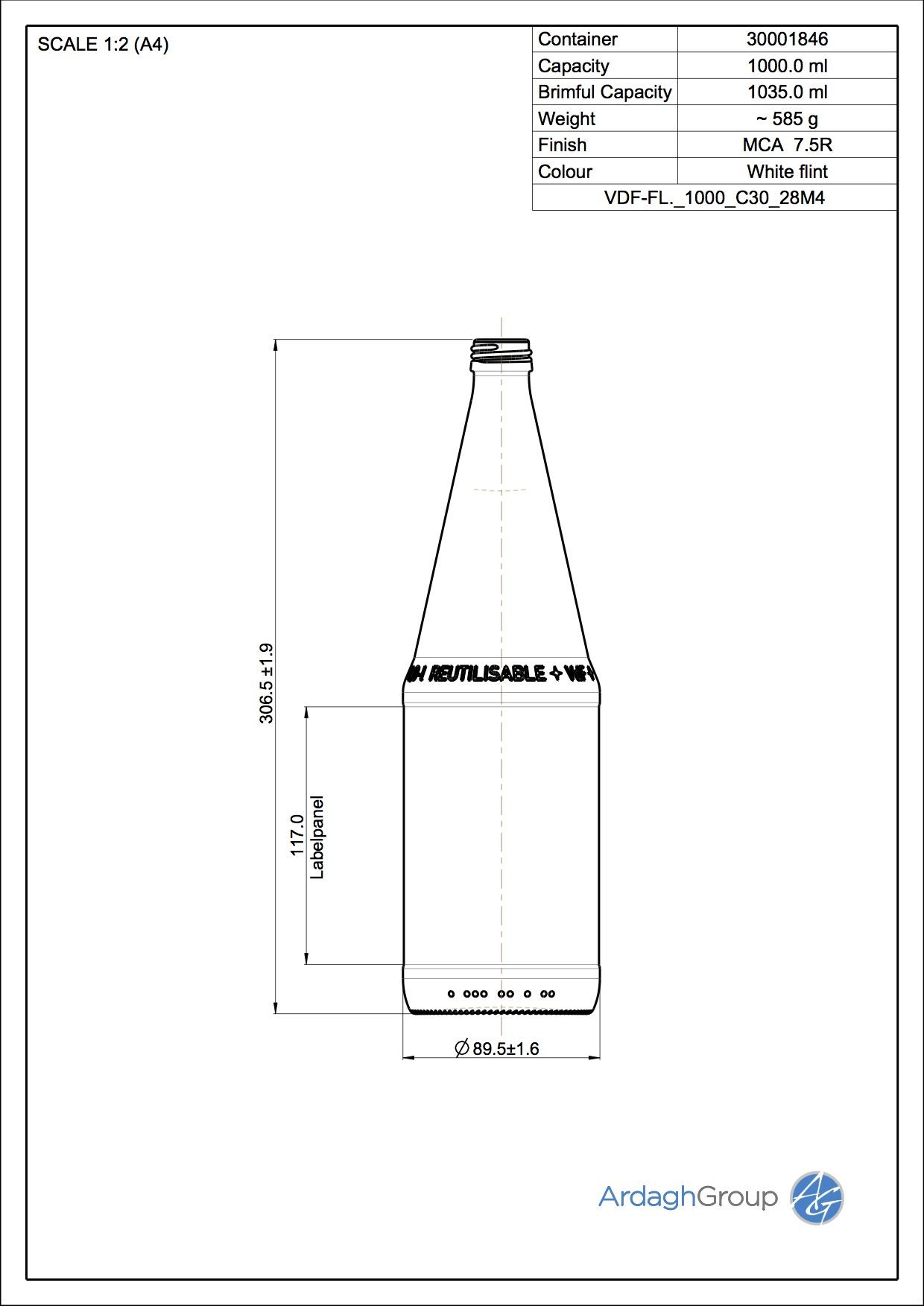 VDF-FL. 1000 C30 28M4