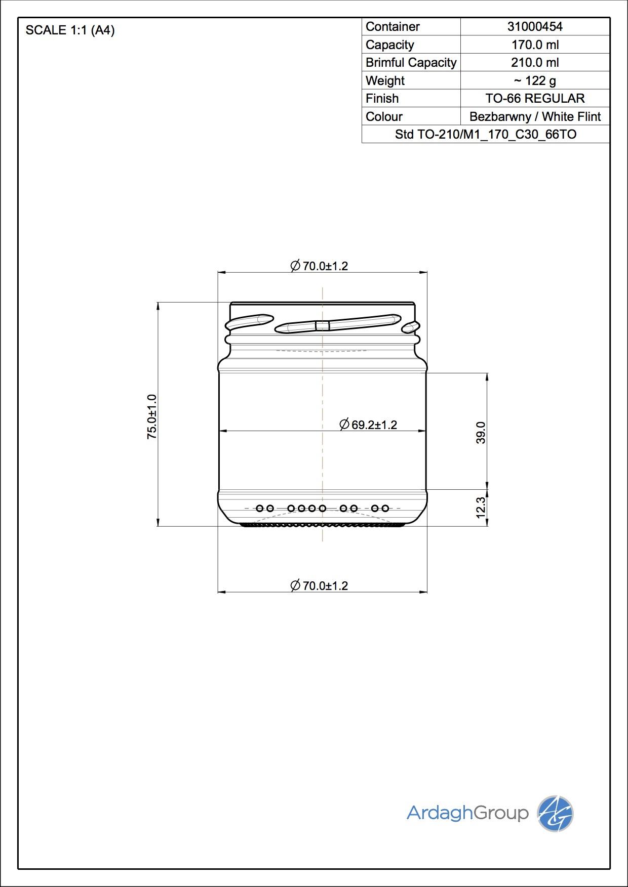Std TO-210/M1 170 C30 66TO