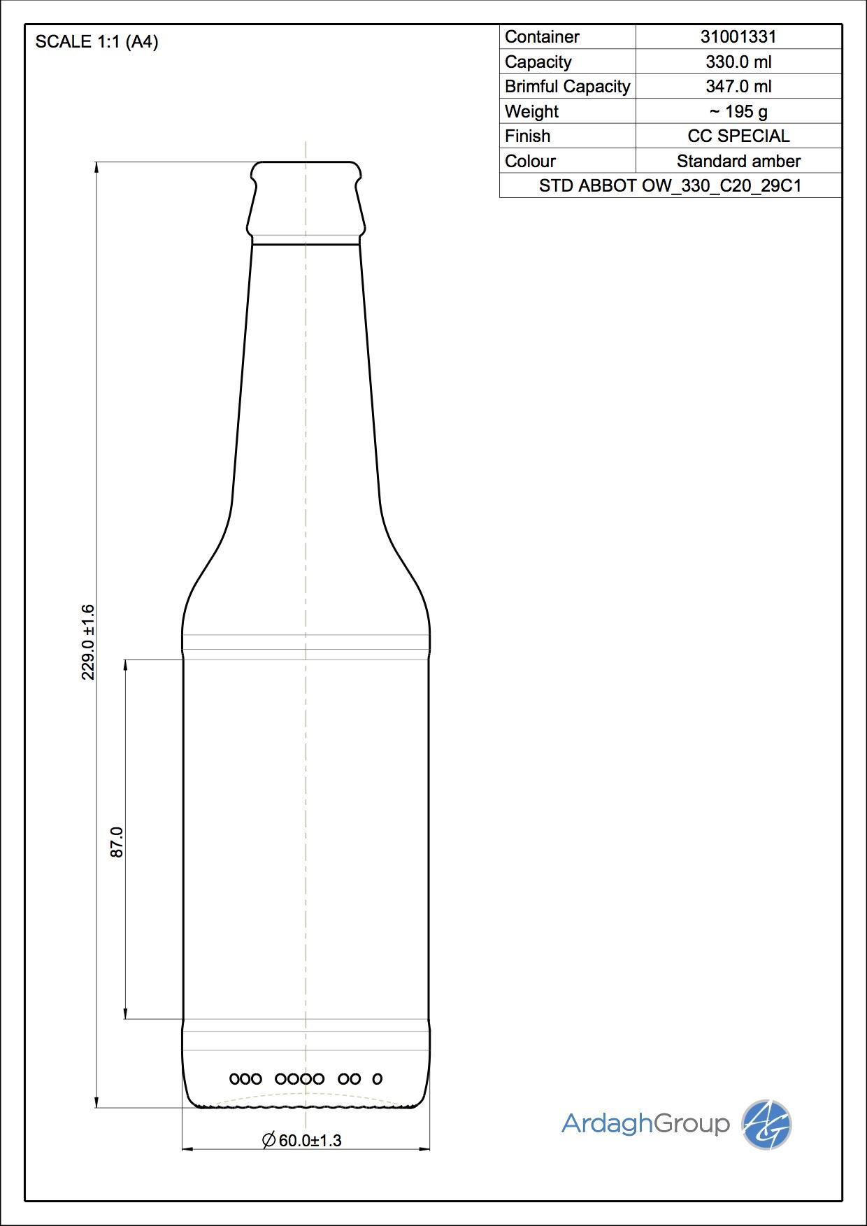 ABBOT OW 330 C20 29C1