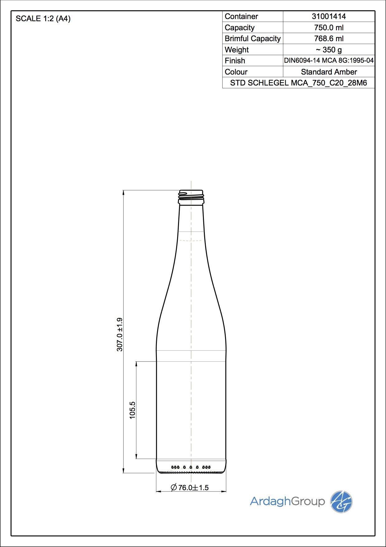 SCHLEGEL MCA 750 C20 28M6