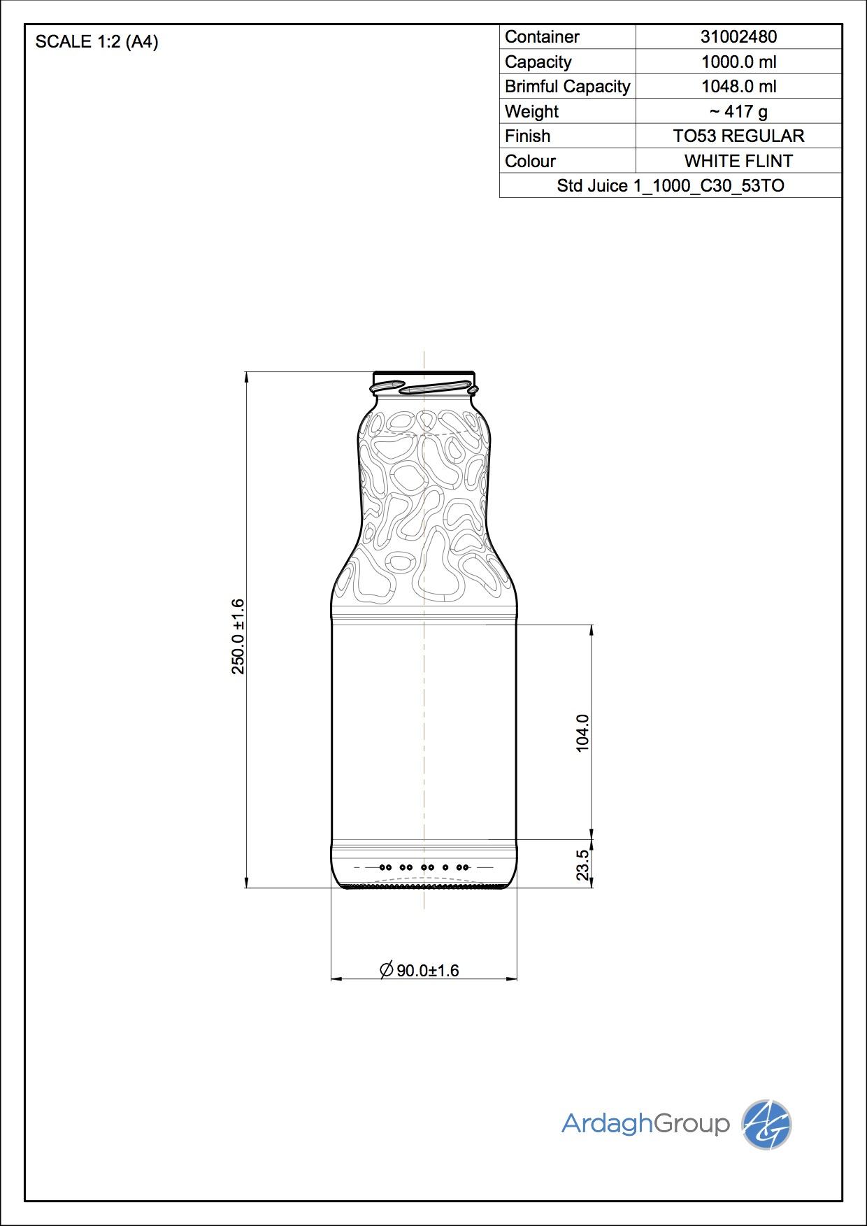 std Juice 1 1000 C30 53TO